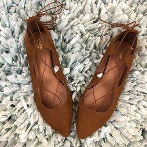 Mossimo Supply & Co. Lace Up Flats sz 11